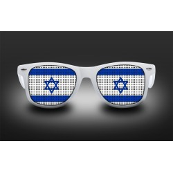 Supporter eyeglasses - Israel - flag