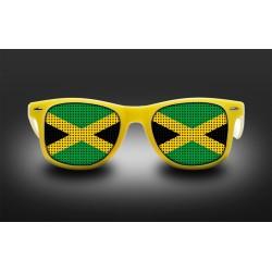 Lunettes de supporter - Jamaïque - Drapeau