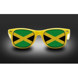 Supporter eyeglasses - Jamaica - flag