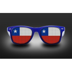 Lunettes de supporter - Chili - Drapeau