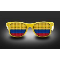 Lunettes de supporter - Colombie - Drapeau