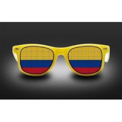 Supporter eyeglasses - Colombia - flag