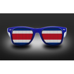 Supporter eyeglasses - Costa Rica - flag