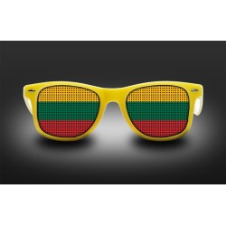 Supporter eyeglasses - Lithuania - flag