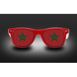 Supporter eyeglasses - Morocco - flag