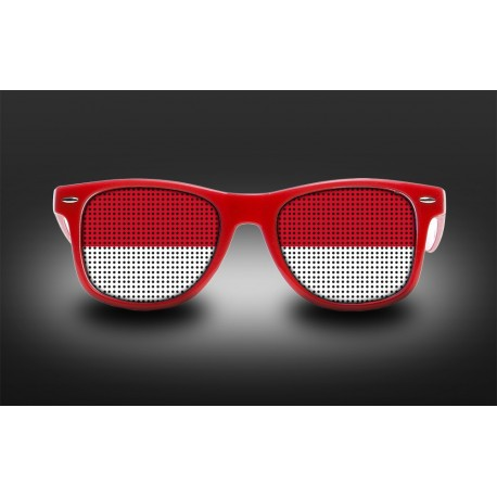 Supporter eyeglasses - Monaco - flag