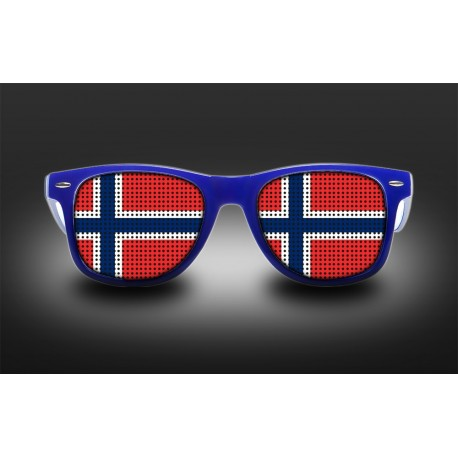 Supporter eyeglasses - Norway - flag
