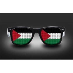 Lunettes de supporter - Palestine - Drapeau