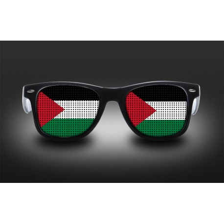 Supporter eyeglasses - Palestine - flag