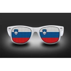 Supporter eyeglasses - Slovénia - flag