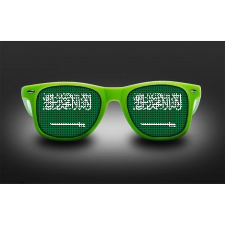 Lunettes de supporter - Arabie Saoudite - Drapeau