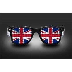 Lunettes de supporter - Royaume Uni - Drapeau