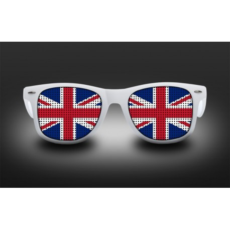 Supporter eyeglasses - United Kingdom - flag