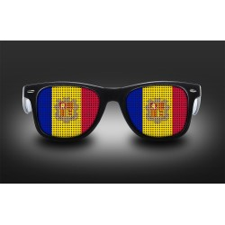 Supporter eyeglasses - Andorra - flag