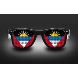 Lunettes de supporter - Antigua et Barbuda - Drapeau