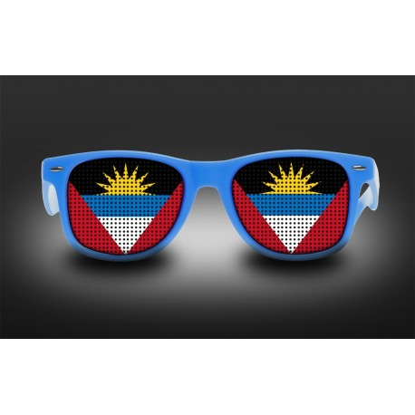 Supporter eyeglasses - Antigua and Barbuda - flag