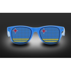 Supporter eyeglasses - Aruba - flag