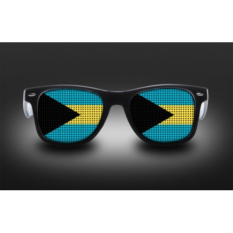 Supporter eyeglasses - The Bahamas - flag