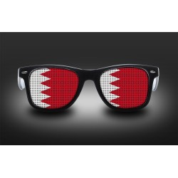 Supporter eyeglasses - Bahrain - flag