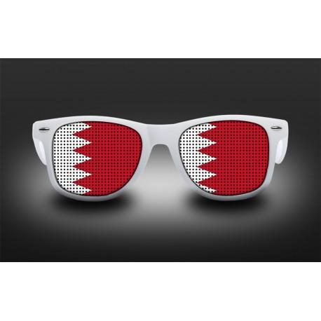 Lunettes de supporter - Bahrein - Drapeau