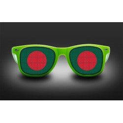 Supporter eyeglasses - Bangladesh - flag