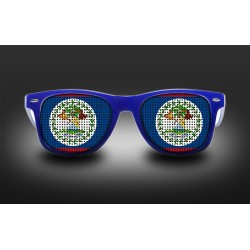Supporter eyeglasses - Belize - flag