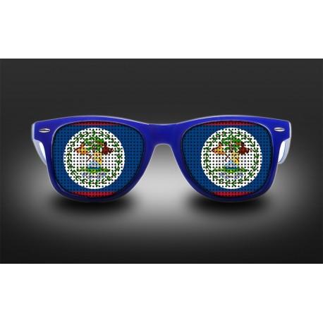 Supporter eyeglasses - Belize - flag