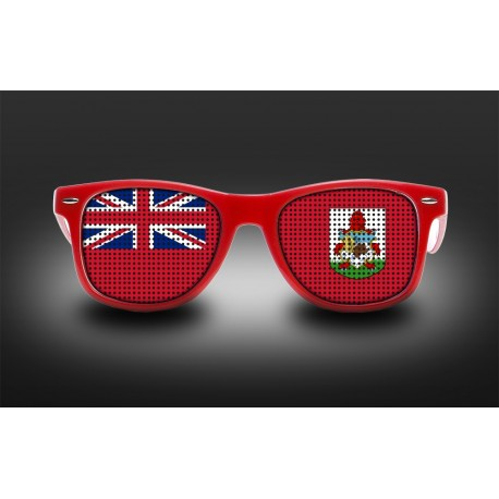 Supporter eyeglasses - Bermuda - flag