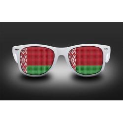 Lunettes de supporter - Biélorussie - Drapeau
