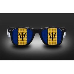 Supporter eyeglasses - Barbados- flag
