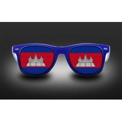 Supporter eyeglasses - Cambodia - flag