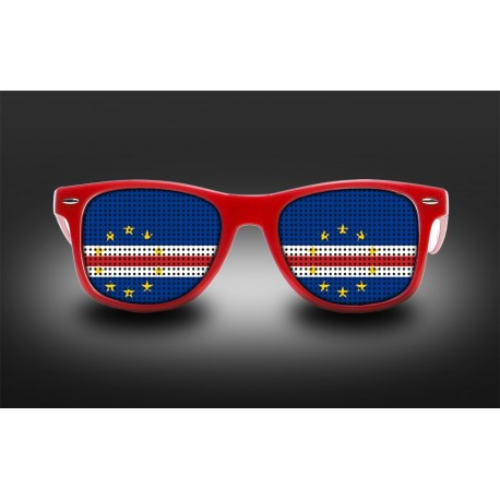 Supporter eyeglasses - Cape Verde - flag