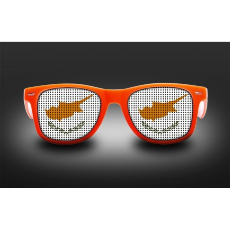 Supporter eyeglasses - Cyprus - flag