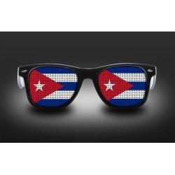 Lunettes de supporter - Cuba - Drapeau