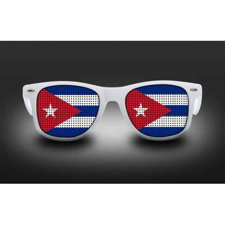 Supporter eyeglasses - Cuba - flag