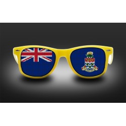 Supporter eyeglasses - Cayman Islands - flag