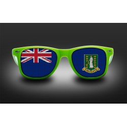 Supporter eyeglasses - British Virgin Islands - flag