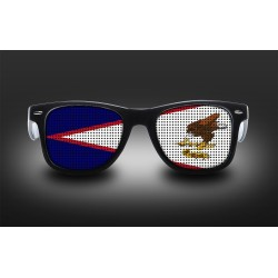 Supporter eyeglasses - American samoa - flag