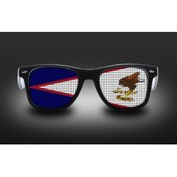 Supporter eyeglasses - American samoa - flag