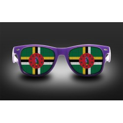 Supporter eyeglasses - Dominica - flag