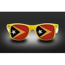 Lunettes de supporter - Timor Oriental - Drapeau