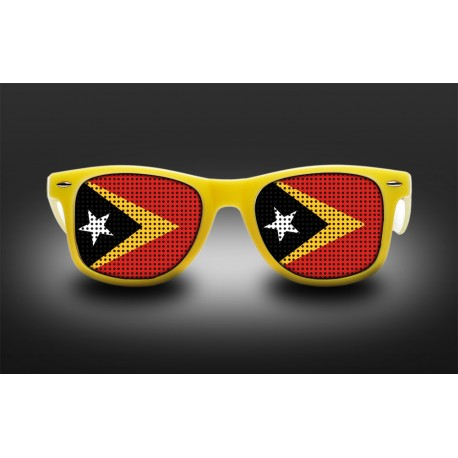 Supporter eyeglasses - East Timor - flag