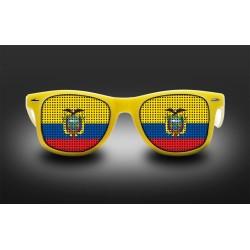 Lunettes de supporter - Equateur - Drapeau