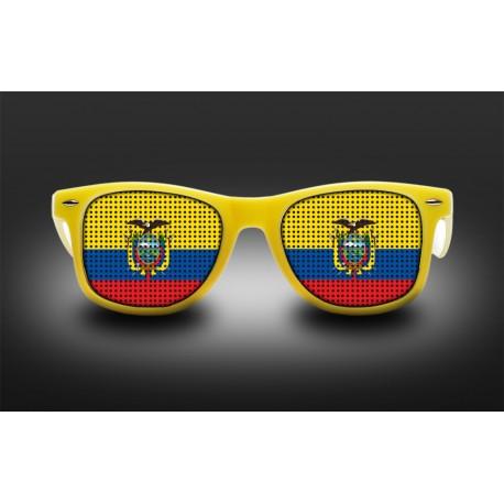 Supporter eyeglasses - Ecuador - flag