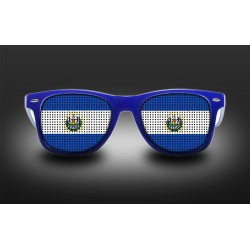 Supporter eyeglasses - El Salvador - flag