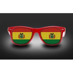 Lunettes de supporter - Bolivie - Drapeau