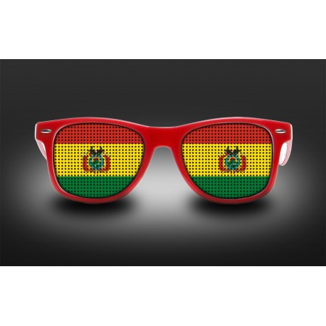 Supporter eyeglasses - Bolivia - flag