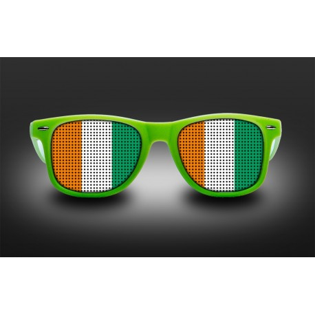 Supporter eyeglasses - Ivory Coast - flag