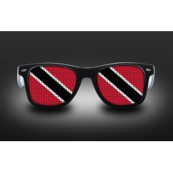 Supporter eyeglasses - Trinidad and Tobago - flag