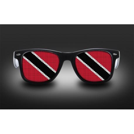 Lunettes de supporter - Trinité et Tobago - Drapeau